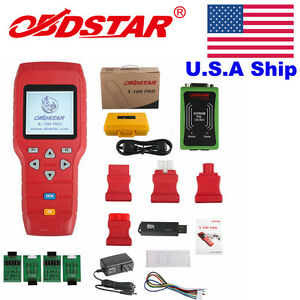 Usa Stock No Tax Obdstar X 100 Pro Car Programmer For Immo Odometer Obd Software