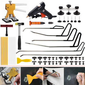 Pdr Paintless Dent Repair Tool Removal Hail Hammer Puller Lifter Rods Kit Us