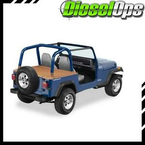 Bestop Duster Deck Cover W Hardtop Removed Spice For Jeep Wrangler 1992 1995