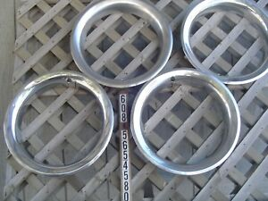 Trim Ring Chevrolet Chevy 15 In Pickup Truck Blazer Hubcaps Wheel Cover Vintage