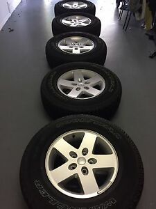 Brand New 2017 Jeep Wrangler Wheels And Tires 17 5 Rims Tires