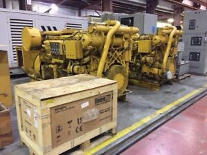1050 Kw Caterpillar 3512 Diesel Generator Set
