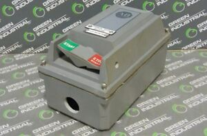 Used Allen Bradley 609 acx Single Phase Ac Manual Motor Controller Size 0 1 2 Hp