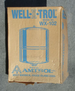 Well x trol Wx 102 4 4 Gallon Well Pressure Tank New In Old Stock Box
