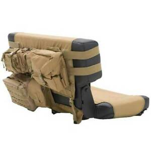 Smittybilt G e a r Seat Cover Rear Cayote Tan For Jeep Wrangler Cj yj tj 76 06
