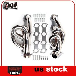For 1997 Ford F 250 F150 Xlt 4 6l Stainless Tubular Exhaust Header Manifold