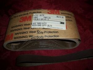 Lot Of 350 3m Sanding Belts 3 4 X 20 1 2 120 Grit