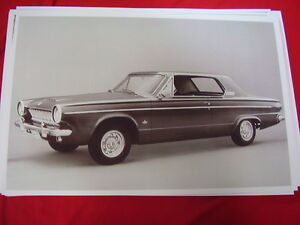 New 1963 Dodge Dart With Offenhauser Wheels 11 X 17 Photo Picture