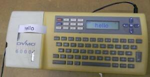 Vintage Dymo Electronic Labelmaker 6000