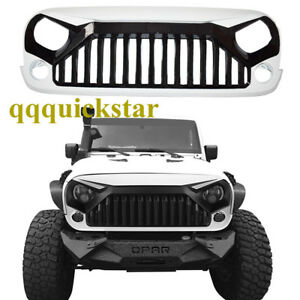 Angry Bird Front Grille Hood For 07 17 Jeep Wrangler Jk Unlimited New