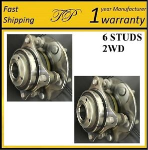 Front Wheel Hub Bearing Assembly For 2005 2014 Toyota Tacoma Pre runner 2wd Pair