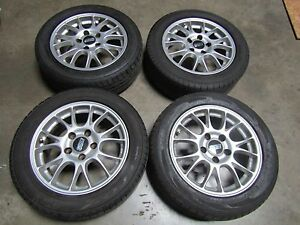 Jdm Bbs 5x120 16 Inch Wheels With Good Toyo 205 55 16 Tires
