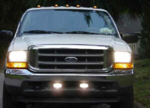 Hella Optilux 1402 Fog Lamps For 1999 2007 Ford Super Duty F250 F350 F450 F550