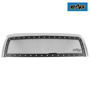 2003 2006 Toyota Tundra Grille Black Ss Wire Mesh W chrome Shell
