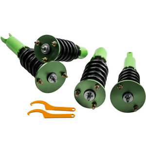 Coilovers Suspension Kit For Honda Accord 90 97 Shock Absorbers Struts Green