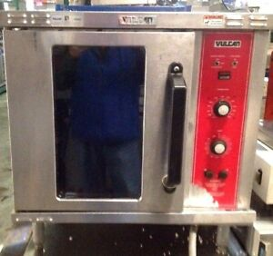 Vulcan Electric Convection Oven Ec02d Half Size Used