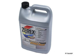 Engine Coolant Antifreeze zerex Wd Express 971 20001 396