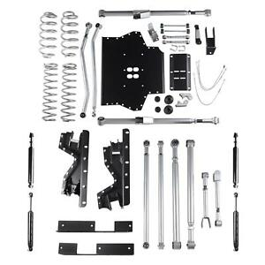 4 5 Inch Jeep Tj Lift Extreme Duty Long Arm W Twin Tube Shocks 03 06 Rubicon Exp