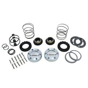 Yukon Hardcore Locking Hub Set For Dana 44 Gm And Ford 1 2 And 3 4 Ton 19 Spline