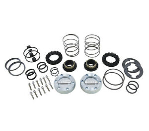 Yukon Hardcore Locking Hub Set For Gm 8 5 Inch Front And Dana 44 19 Spline