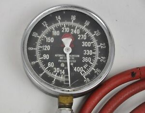 Matco Atg4 Automatic Transmission And Engine Oil Pressure Tester 400psi Usa Made