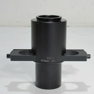Nikon 0 3 A Condenser For Tms Inverted Phase Contrast Microscope