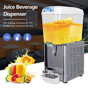 Commercial Juice Beverage Dispenser Cold And Hot Drink Coffee Fruit Ice Tea