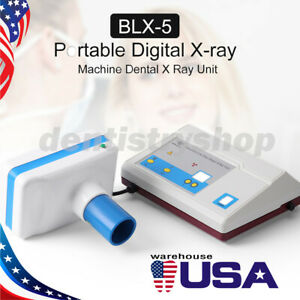 Usps Portable Dental Mobile Digital X ray Imaging Machine Unit System Blx 5
