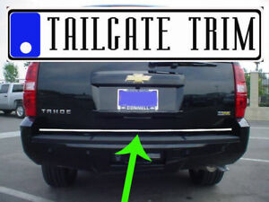 Chevy Tahoe 2007 2008 2009 2010 2014 Chrome Tailgate Trunk Trim Molding