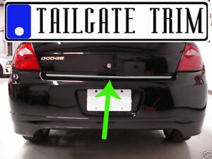 Dodge Neon 2000 2001 2002 2003 2004 2005 Chrome Tailgate Trunk Trim Molding