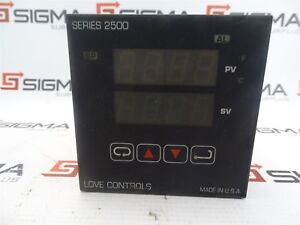 Love Controls 25113 Temperature Control Series 2500