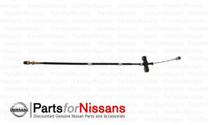 Genuine Nissan 2001 2004 Frontier Xterra Accelerator Throttle Cable Se Xe 3 3