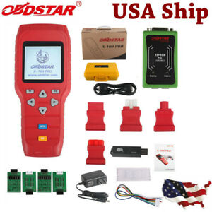 Usa Shipping X 100 Pro Auto Programmer C D Type For Immo Odometer Obd Software