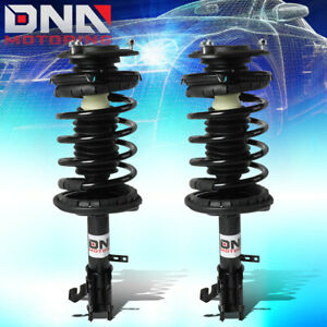 For 1993 2002 Toyota Corolla chevy Prizm Pair Front Coil Spring Shock Struts
