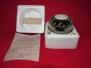 Vtg Russian Ussr Navy Maritime Compass Yachts Boats 131 Exc