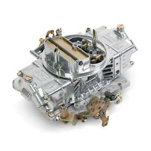 Holley 0 80572s Carburetor 700 Cfm Polished