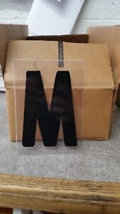 Outdoor Plastic Sign Letters 4 Inch