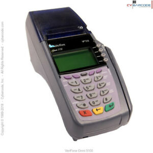 Verifone Omni 5100 Transaction Terminal 3730 Vx510