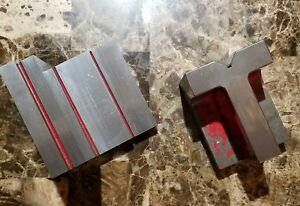 Step Angle Plate And Right Angle Block Set