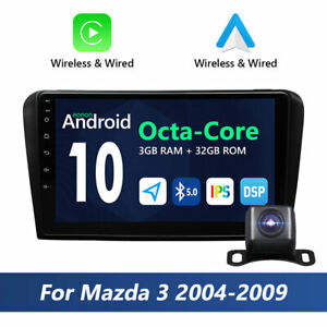 For Mazda 3 2006 2005 2007 2008 Bk Car Stereo Android 10 7 Dvd Gps Stereo Cam I