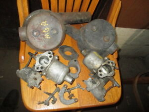 Mgb Carburetor Set With Air Filters And Extra Linkage Parts