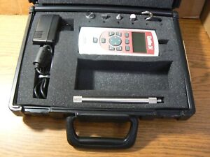Chatillon Dfe 100 Digital Force Gauge W Attachments Charger Nice Case