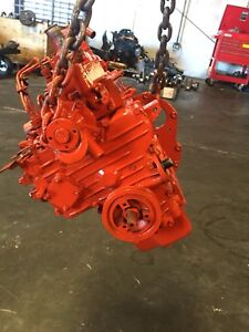 Perkins D950 3 Cyl Diesel Engine Running Condition Refinished 927cc 8z1n