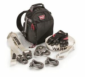 Warn 97565 Medium Epic Accessory Recovery Kit For Winches Up To 12 000 Lbs