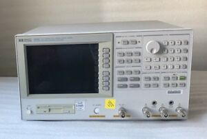 Hp Agilent 4395a Network Spectrum Impedance Analyzer 10hz 500mhz
