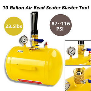 10 Gallon Inflator Blaster Tool Air Bead Seater Tire Seating Atv Tractor Truck