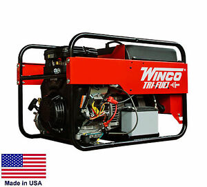 Portable Generator Tri Fuel 9 000 Watt 120 240v 16 Hp Engine Elect Start