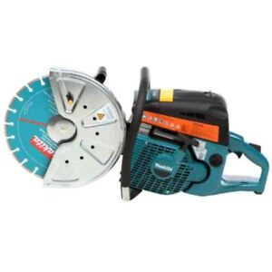 Gas Saw With 14 In Diamond Blade 73cc 14 In