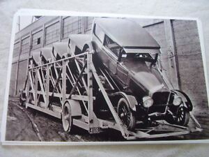 New 1925 Buick On Car Carrier 11 X 17 Photo Picture
