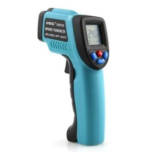 Gm550 Digital Infrared Thermometer Pyrometer Aquarium Laser Thermometer Outdoor
